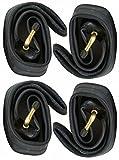 CBK-MS® 4X 12 Kinderwagen Schlauch 12 1/2 x 2 1/4 = 62-203 AV 45° Winkel Autoventil auch für Roller Dreirad Laufrad Fahrrad Anhänger