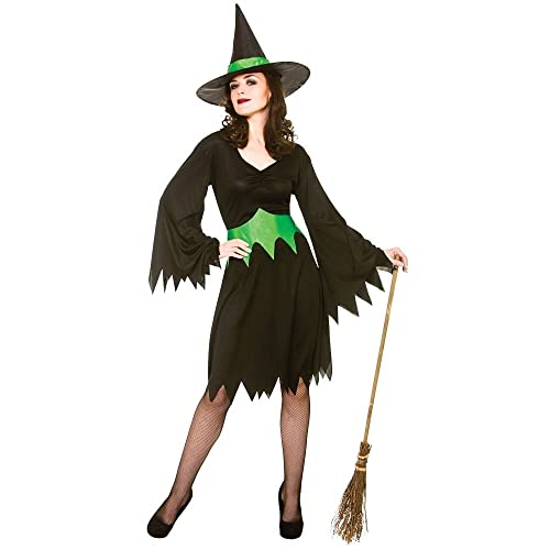 35125ca9377 Adult Female Wicked Witch Costume Fancy Dress