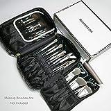 ROWNYEON Makeup Brush Bag Make...