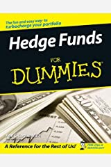 Hedge Funds For Dummies Kindle Edition