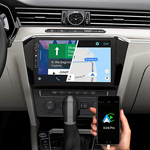 DYNAVIN Autoradio Navi für VW Passat B8, 10,1 Zoll OEM Radio mit Bluetooth, inkl. DAB+, USB, Kompatibel mit Carplay und Android Auto: DX-V-55 Flex