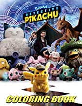 Amazon Com Pokemon Detective Pikachu English Coloring Books