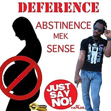 Abstinence Mek Sense - Single