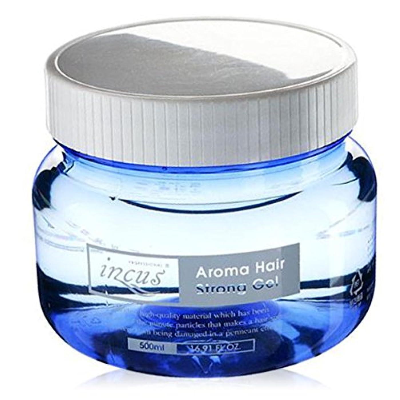 クラシックパキスタン人赤[Somang/希望] Incus Aroma Hair Strong Gel 500ml/希望のキュスアロマヘアストロングジェル(海外直送品)