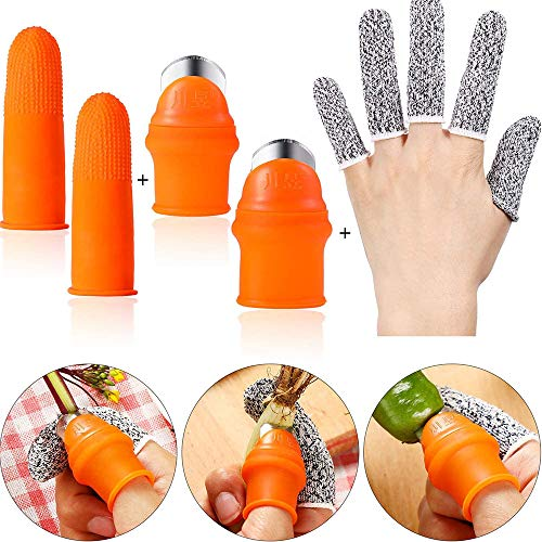 Garten Silikon Daumenmesser Separator Finger Messer Ernte Pflanze Messer Pflanze Garten Geschenke Trim Garten Gemüse Gartengeräte