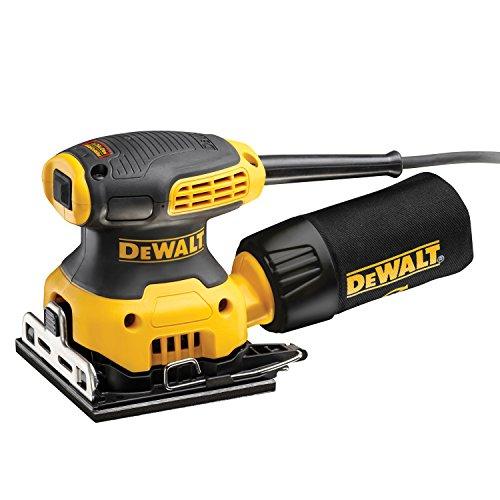 DeWalt dwe6411z-it Schwingschleifer 230W, 1/4Blatt, 14000opm und Spurstange für Fensterläden Holz)