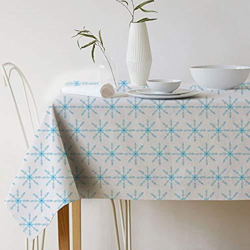 XXDD Mantel de celosía geométrica Mantel de impresión navideña Mantel de pañal decoración del hogar Cubierta de la Chimenea Mantel Cubierta de Tela A9 135x160cm