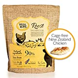 Wishbone Roost Grain and Gluten Free Cat Food, Made from New Zealand Chicken Cat Food, All Natural Dry Cat Food, High Protein, Minerals and Taurine Dry Cat Food, For All Life Stages, 4 Pound