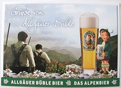 Allgäuer Brauhaus - Büble Bier - Grüße von Allgäuer Büble - Postkarte - Motiv 09