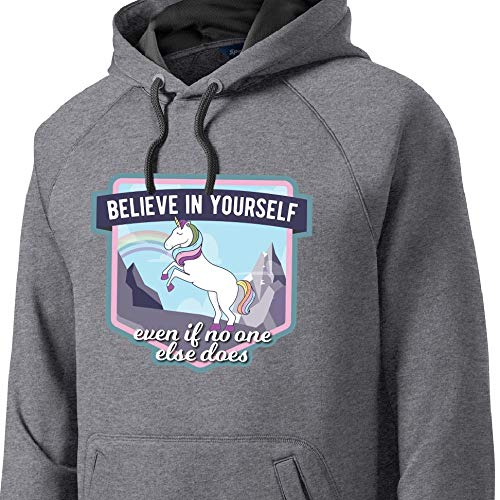 Believe Yourself Cute Unicorn Unisex Sweatshirt