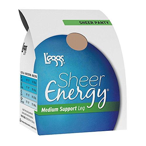 L'eggs Sheer Energy All Sheer Pantyhose (60800) Suntan, B