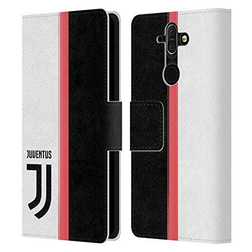 Head Case Designs Ufficiale Juventus Football Club in Casa 2019/20 Race Kit Cover in Pelle a Portafoglio Compatibile con Nokia 8 Sirocco