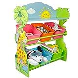 Fantasy Fields Children Sunny SafariHolz-Spielzeugkiste TD-12242A