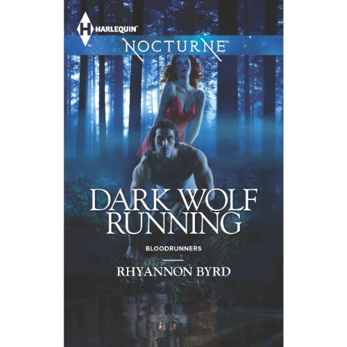 Dark Wolf Running audiobook cover art