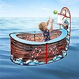 josietomy Spielzelt Kinderzelt,Piratenschiff Spielzelt Für Kinder,Faltbare Pop Up Spielzelt Spiel...