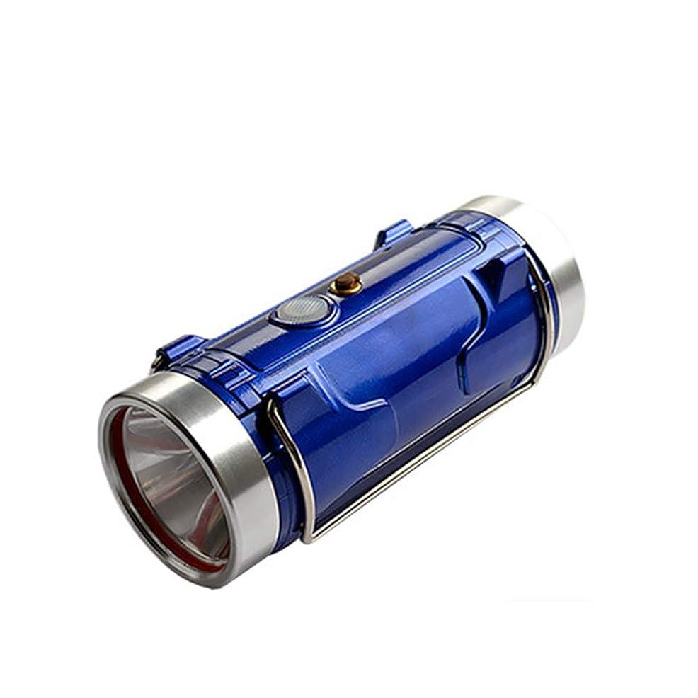 似ている回転させる高さ二重光源の青と白の釣り灯 20Wポータブル防水ナイトフィッシングライト 充電式 誘導ヘッドライト付き 餌ライト ブラケット付き 水に浮かぶ