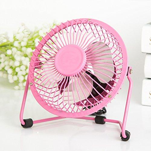 *KK* Ventilatore USB Piccolo ventilatore elettrico Mute Dormitorio Letto Studente Mini Ventilatore Piccolo Tavolo Tablet Portable