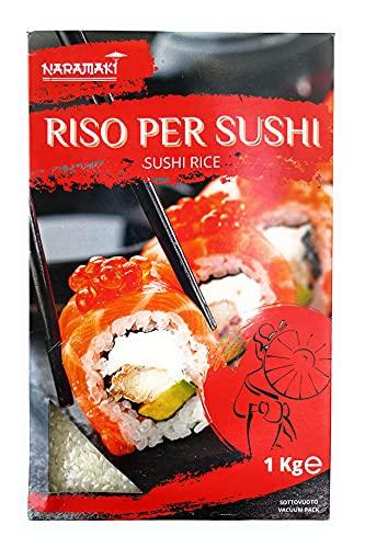 Naramaki Riso per Sushi alla Giapponese, Sushi Rice - Sushi-Meshi - 1kg