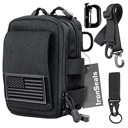 IronSeals Multipurpose Utility IFAK Pouch Tactical Molle...