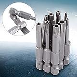 12PCS Star Head Star Head Tool 6.25mm Punta de destornillador...