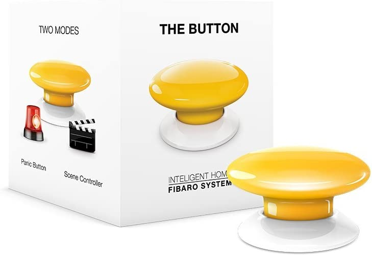 Daily bargain sale FIBARO The Button Z-Wave Plus Elegant Scene F On-Off Controller Trigger