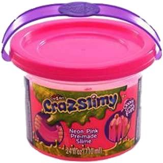 Cra-Z-Slimy Neon Pink Slimy Goop, Large 24 oz tub!