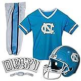 Franklin Sports UNC Tarheels Kids College Football Uniform Set - Youth NCAA...