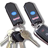 Key Finder Pair, Indisputably The Loudest with Long Life Replaceable Battery