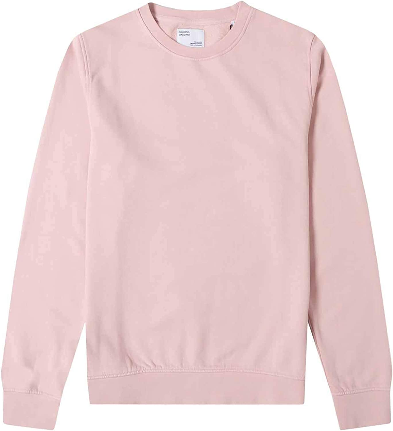 Colorful Standard Classic Max 78% OFF Organic Crew Small Sweater Pink Faded Fashion