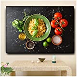 Getreide Gewürze Obst Gemüse Küche Kochen Leinwand