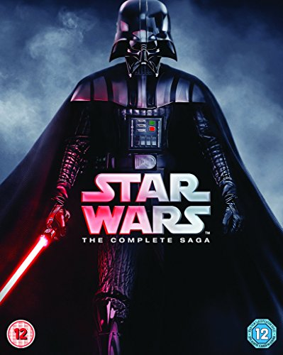Star Wars - The Complete Saga [Blu-ray] [1977] UK-Import, Sprache: Englisch.