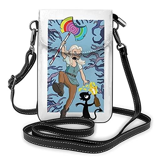 Desenchantment Luci Animation - Bolso bandolera para mujer, diseño de cartera
