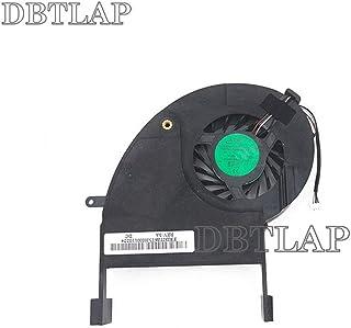 DBTLAP Ventilador de la CPU del Ordenador portátil Compatibles para Toshiba Qosmio X505 X505-Q X505-Q888 X505-Q870 X505-Q880 X505-SP8915A X505-Q887 Series P/N AB9005HX-DD3