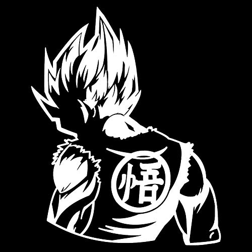 ALTcompluser Anime Autoaufkleber Dragon Ball DBZ Son Goku Car Sticker Auto Fenster Tuning Vinyl Aufkleber