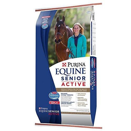 Purina Animal Nutrition Purina Equine Senior Active 50lb Textured