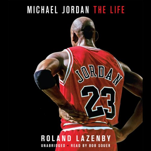 Michael Jordan audiobook cover art