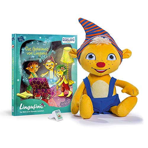 Monsterzeug Kobold Lernspielzeug für Kinder, Sprechendes Plüsch Spielzeug mit Spracherkennung, Spiel zur...