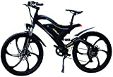 Addmotor Hithot H2.Pedelec Ebike Bicicleta Eléctrica 500.W 48.V Bafang Rear Hub Motor 10.4.Ah Samsung Batería El Ebike Para Grandes Profesionales con Amortiguación Completa, Mag