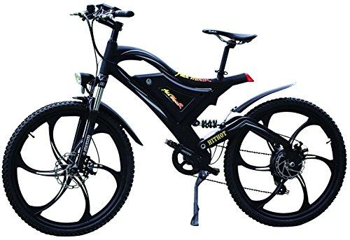 Addmotor® HitHot H2 Pedelec EBike Elektro Fahrrad 500W 48V Bafang Rear Hub Motor 10.4AH Samsung Batterie DAS Ebike für Große Leute Mit Vollfederung … (MAG)