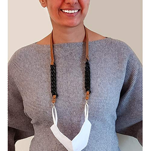 MELLO Face Mask Holder Chain Lanyard Neck Strap hands-free for...