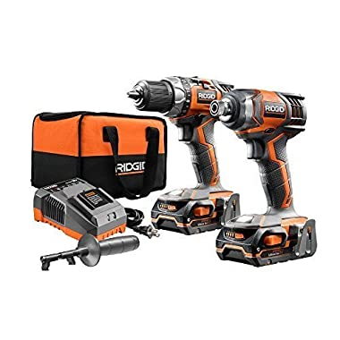 RIDGID X4 18-Volt Lithium-Ion Cordless Drill and Impact Driver Combo Kit (2-Tool)