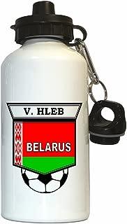 Vyacheslav Hleb (Belarus) Soccer Water Bottle White