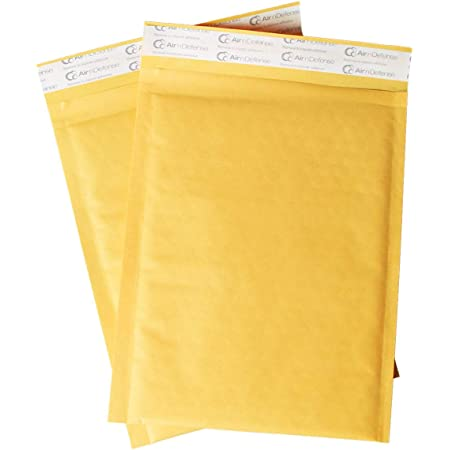 Kraft Bubble Mailers #1 Shipping Mailing Padded Envelopes Mailer 7.25 x 12 200 Bags