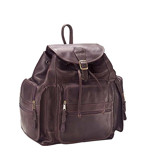 Clava XL Leather Backpack - Backpack - Leather - Vachetta Cafe - Vachetta Cafe