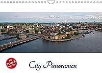 City - Panoramen (Wandkalender 2022 DIN A4 quer): Stadtansichten im XXL-Format (Geburtstagskalender, 14 Seiten )