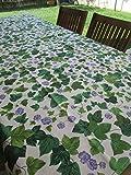Pago Poco Mantel rectangular fantasía hiedra en todas las medidas 100% algodón Made in Italy novedad 2021!