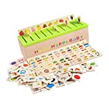 PETSOLA Kit De Jouets De Tri De Groupement Montessori pour Enfants Apprenant en Distinguant Les Catégories
