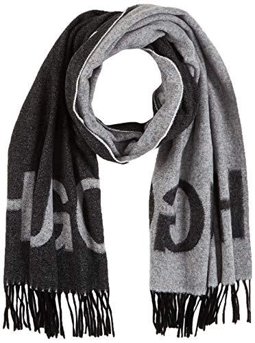 HUGO Herren Schal Unisex-Z 470_1, Mehrfarbig (Open Miscellaneous 960 ), Einheitsgröße