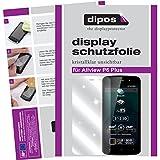 dipos I 6X Schutzfolie klar kompatibel mit Allview P6 Plus Folie Bildschirmschutzfolie