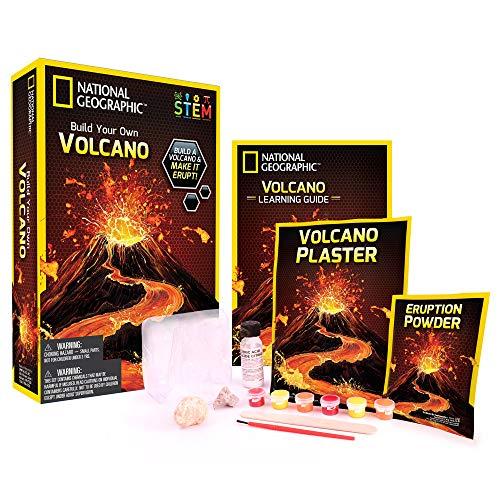 Volcan à fabriquer et faire entrer en éruption